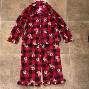 Minnie Mouse Flannel PJs